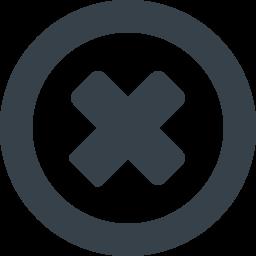 禁止 閉じるのアイコン素材 1 商用可の無料 フリー のアイコン素材をダウンロードできるサイト Icon Rainbow