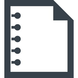 メモ ノートのアイコン素材 2 商用可の無料 フリー のアイコン素材をダウンロードできるサイト Icon Rainbow