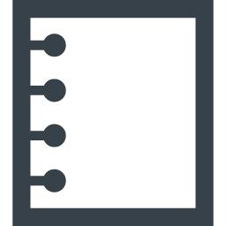 メモ ノートのアイコン素材 3 商用可の無料 フリー のアイコン素材をダウンロードできるサイト Icon Rainbow
