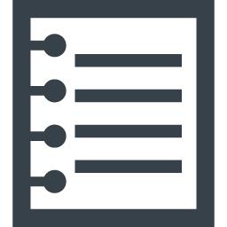 書類 メモのアイコン素材 2 商用可の無料 フリー のアイコン素材をダウンロードできるサイト Icon Rainbow