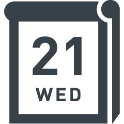 日めくりカレンダーのアイコン素材 商用可の無料 フリー のアイコン素材をダウンロードできるサイト Icon Rainbow
