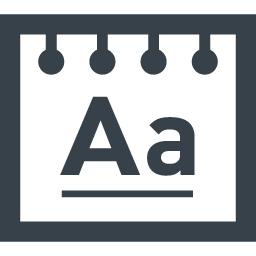 フォント 文字の切り替えアイコン 商用可の無料 フリー のアイコン素材をダウンロードできるサイト Icon Rainbow