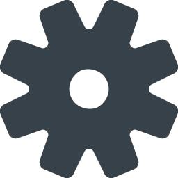 設定の歯車アイコン素材 2 商用可の無料 フリー のアイコン素材をダウンロードできるサイト Icon Rainbow