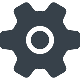 設定の歯車アイコン素材 5 商用可の無料 フリー のアイコン素材をダウンロードできるサイト Icon Rainbow