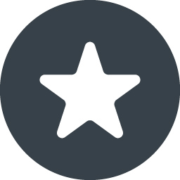 丸枠付きの星のアイコン素材 2 商用可の無料 フリー のアイコン素材をダウンロードできるサイト Icon Rainbow