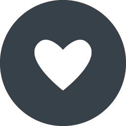 丸枠付きのハートのアイコン素材 2 商用可の無料 フリー のアイコン素材をダウンロードできるサイト Icon Rainbow