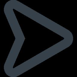 線の三角矢印のアイコン素材 右 商用可の無料 フリー のアイコン素材をダウンロードできるサイト Icon Rainbow