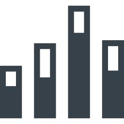 棒グラフのアイコン素材 3 商用可の無料 フリー のアイコン素材をダウンロードできるサイト Icon Rainbow