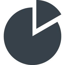 円グラフのアイコン素材 1 商用可の無料 フリー のアイコン素材をダウンロードできるサイト Icon Rainbow