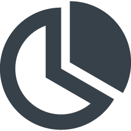 円グラフのアイコン素材 4 商用可の無料 フリー のアイコン素材をダウンロードできるサイト Icon Rainbow