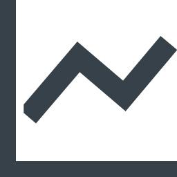 折れ線グラフのアイコン素材 1 商用可の無料 フリー のアイコン素材をダウンロードできるサイト Icon Rainbow