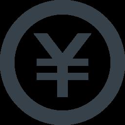 丸枠付きの円マークのアイコン素材 1 商用可の無料 フリー のアイコン素材をダウンロードできるサイト Icon Rainbow