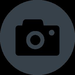 丸枠付きのカメラのアイコン素材 2 商用可の無料 フリー のアイコン素材をダウンロードできるサイト Icon Rainbow