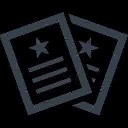 書類のアイコン素材 3 商用可の無料 フリー のアイコン素材をダウンロードできるサイト Icon Rainbow