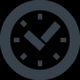 無料でダウンロードできる時計のイラストアイコン素材 2 商用可の無料 フリー のアイコン素材をダウンロードできるサイト Icon Rainbow