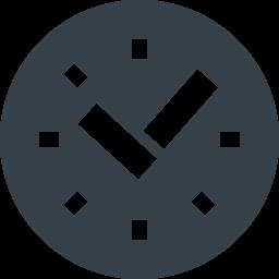 時計のアイコン素材 4 商用可の無料 フリー のアイコン素材をダウンロードできるサイト Icon Rainbow
