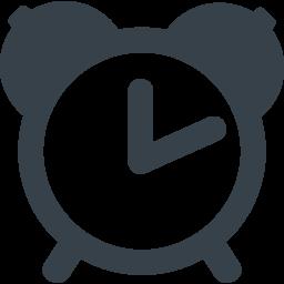 目覚まし時計のアイコン素材 2 商用可の無料 フリー のアイコン素材をダウンロードできるサイト Icon Rainbow