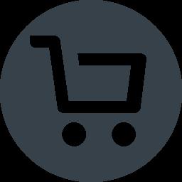 丸枠付きのショッピングカートのアイコン素材 4 商用可の無料 フリー のアイコン素材をダウンロードできるサイト Icon Rainbow