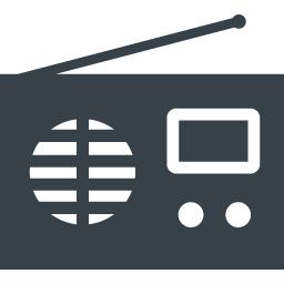 ラジオのアイコン素材 1 商用可の無料 フリー のアイコン素材をダウンロードできるサイト Icon Rainbow