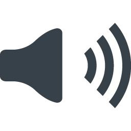音声マークのアイコン素材 1 商用可の無料 フリー のアイコン素材をダウンロードできるサイト Icon Rainbow