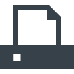 プリンター Faxのアイコン素材 1 商用可の無料 フリー のアイコン素材をダウンロードできるサイト Icon Rainbow