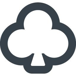 クローバーのアイコン素材 2 商用可の無料 フリー のアイコン素材をダウンロードできるサイト Icon Rainbow