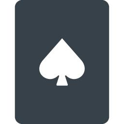 無料でダウンロードできるスペードのトランプのアイコン 2 商用可の無料 フリー のアイコン素材をダウンロードできるサイト Icon Rainbow
