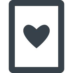 ハートのトランプアイコン 1 商用可の無料 フリー のアイコン素材をダウンロードできるサイト Icon Rainbow