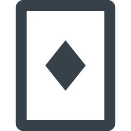 ダイヤのトランプアイコン 1 商用可の無料 フリー のアイコン素材をダウンロードできるサイト Icon Rainbow