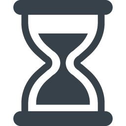 砂時計のイラストアイコン素材 2 商用可の無料 フリー のアイコン素材をダウンロードできるサイト Icon Rainbow