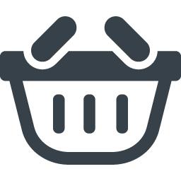 手持ちの買物かごのイラストアイコン素材 2 商用可の無料 フリー のアイコン素材をダウンロードできるサイト Icon Rainbow