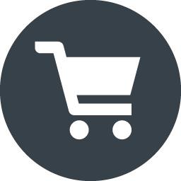 丸枠付きショッピングカートのアイコン素材 6 商用可の無料 フリー のアイコン素材をダウンロードできるサイト Icon Rainbow