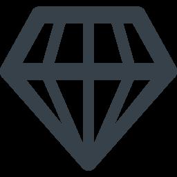 ダイヤのアイコン素材 商用可の無料 フリー のアイコン素材をダウンロードできるサイト Icon Rainbow