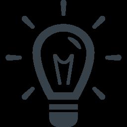 豆電球のアイコン素材 2 商用可の無料 フリー のアイコン素材をダウンロードできるサイト Icon Rainbow