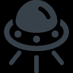 Ufoのイラストアイコン素材 1 商用可の無料 フリー のアイコン素材をダウンロードできるサイト Icon Rainbow