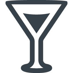 カクテルグラスのイラストアイコン素材 1 商用可の無料 フリー のアイコン素材をダウンロードできるサイト Icon Rainbow