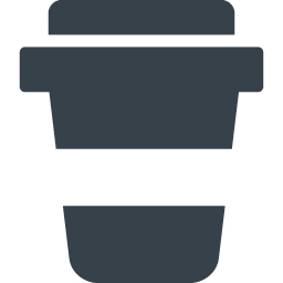 テイクアウト用のコーヒーカップ アイコン 1 商用可の無料 フリー のアイコン素材をダウンロードできるサイト Icon Rainbow