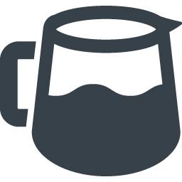ガラスのコーヒーサーバーイラストアイコン 2 商用可の無料 フリー のアイコン素材をダウンロードできるサイト Icon Rainbow