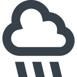 無料でダウンロードできる雨のアイコン素材 4 商用可の無料 フリー のアイコン素材をダウンロードできるサイト Icon Rainbow