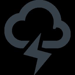 雷のイラスト素材 1 商用可の無料 フリー のアイコン素材をダウンロードできるサイト Icon Rainbow