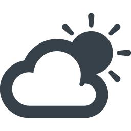 曇りのち晴れのアイコン素材 1 商用可の無料 フリー のアイコン素材をダウンロードできるサイト Icon Rainbow