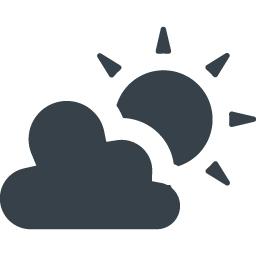 無料でダウンロードできる曇りのち晴れのアイコン素材 2 商用可の無料 フリー のアイコン素材をダウンロードできるサイト Icon Rainbow