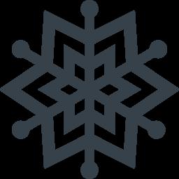 雪の結晶のアイコン素材 2 商用可の無料 フリー のアイコン素材をダウンロードできるサイト Icon Rainbow