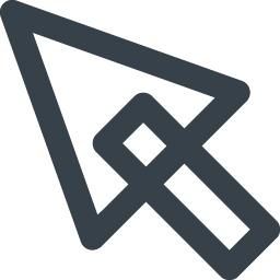 Pcのカーソル矢印アイコン 3 商用可の無料 フリー のアイコン素材をダウンロードできるサイト Icon Rainbow
