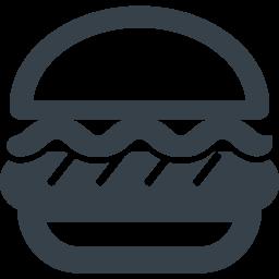 ハンバーガーのイラストアイコン素材 1 商用可の無料 フリー のアイコン素材をダウンロードできるサイト Icon Rainbow