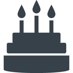 ケーキのアイコン素材 2 商用可の無料 フリー のアイコン素材をダウンロードできるサイト Icon Rainbow