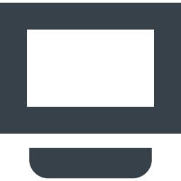 テレビ モニタのフリーアイコン素材 2 商用可の無料 フリー のアイコン素材をダウンロードできるサイト Icon Rainbow