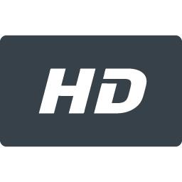 Hdマークのアイコン素材 2 商用可の無料 フリー のアイコン素材をダウンロードできるサイト Icon Rainbow