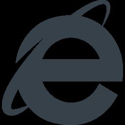 Internet Explorerのアイコン素材 1 商用可の無料 フリー のアイコン素材をダウンロードできるサイト Icon Rainbow