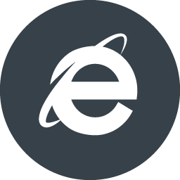 Internet Explorerのアイコン素材 2 商用可の無料 フリー のアイコン素材をダウンロードできるサイト Icon Rainbow